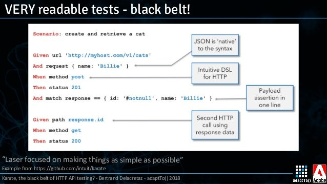 Karate, the black belt of HTTP API testing?