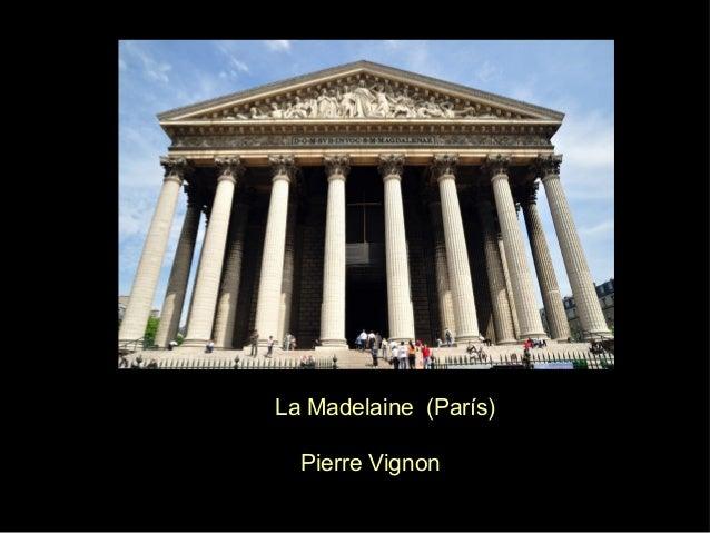 J LaMadelaine(París)  PierreVignon