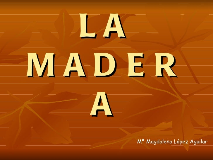 LAMADER  A   Mª Magdalena López Aguilar