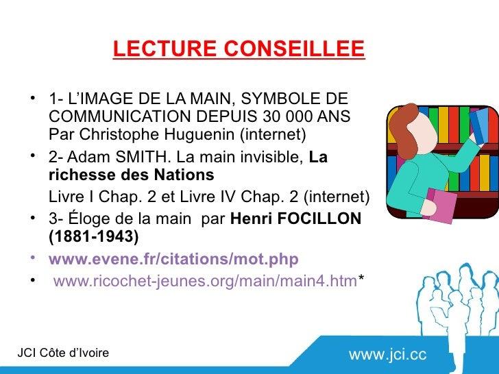LECTURE CONSEILLEE  • 1- L'IMAGE DE LA MAIN, SYMBOLE DE    COMMUNICATION DEPUIS 30 000 ANS    Par Christophe Huguenin (int...