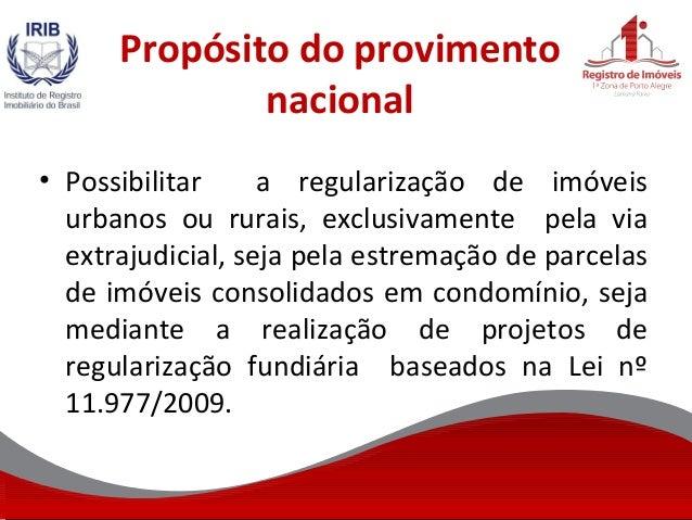 Regulariza o imobili ria nacional for Via extrajudicial