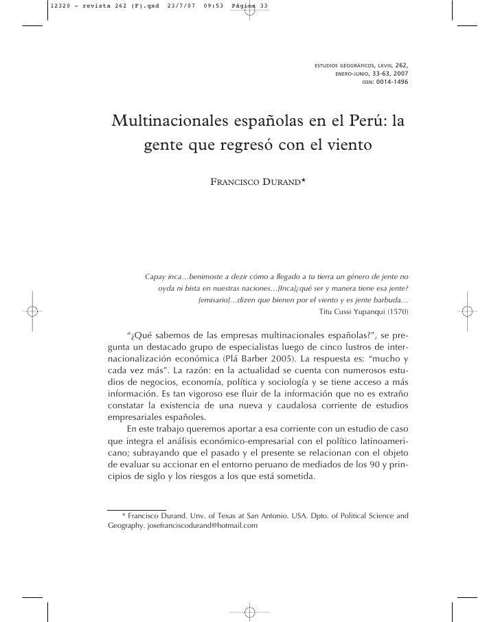 ESTUDIOS GEOGRÁFICOS, LXVIII,                                                                                        262, ...