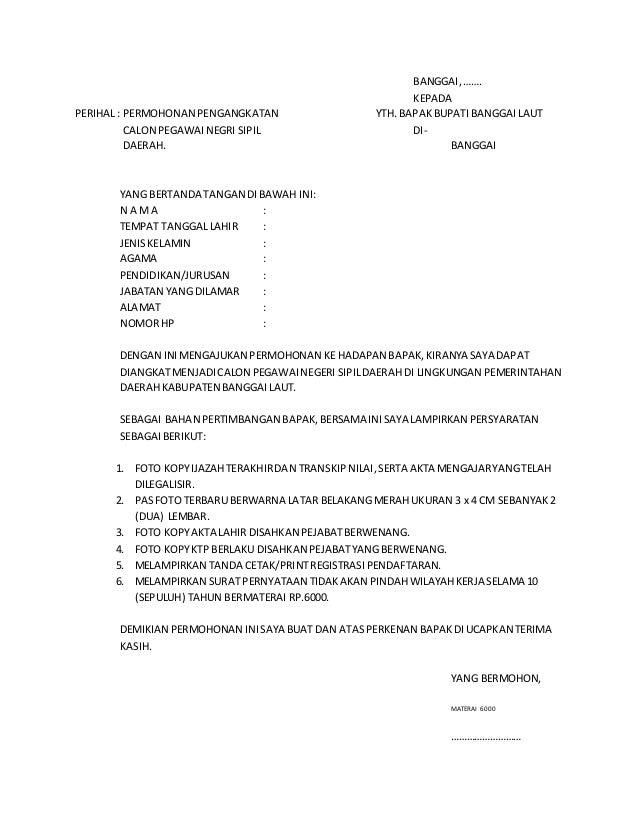 Jenis Jenis Surat Untuk Pernyataan