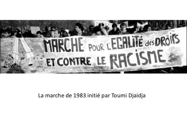 La marche de 1983 initié par Toumi Djaidja