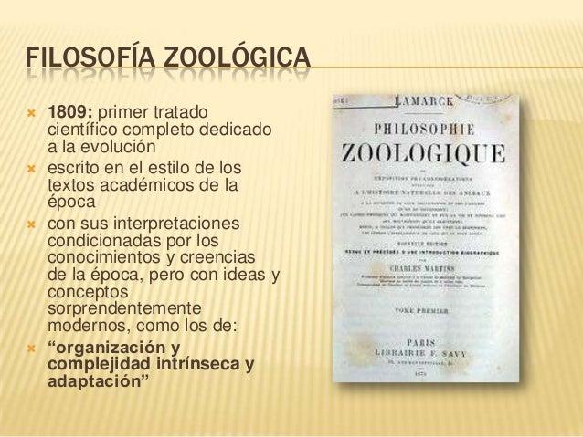 Resultado de imagen de filosofia zoologica de Lamarck
