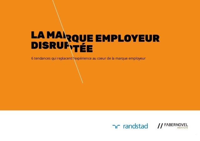 La marque employeur disruptée