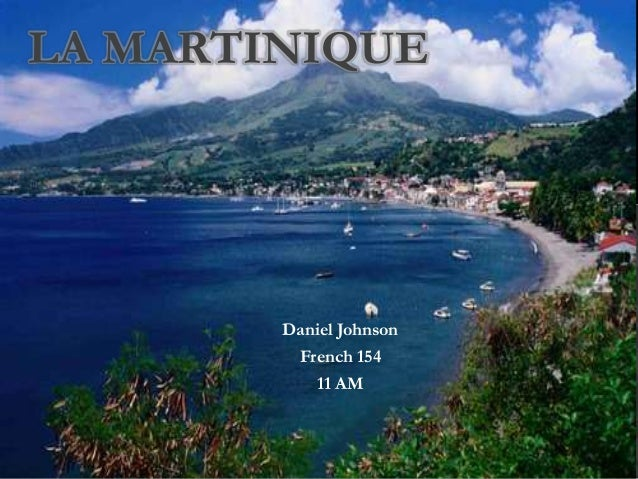 Daniel Johnson French 154 11 AM LA MARTINIQUE