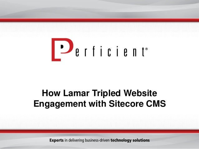 How Lamar Tripled Website Engagement with Sitecore CMS