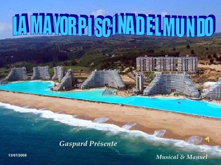 La mas grande y mas honda piscina del mundo chile for Piscina 02 manuel becerra