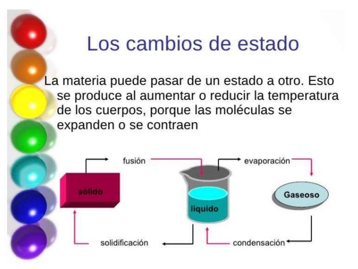 Diapositivas La materia
