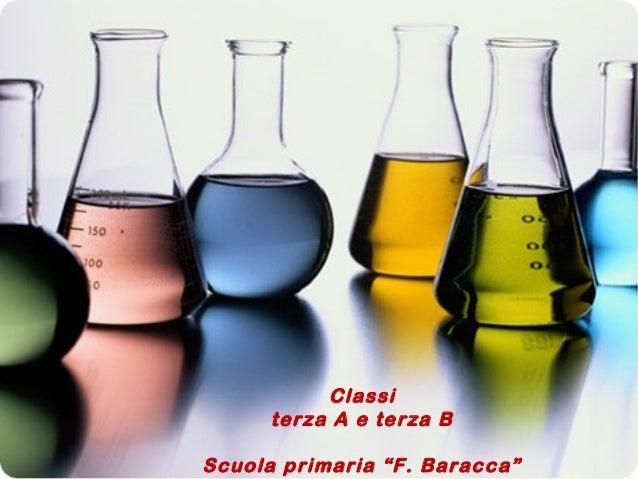 """Classi terza A e terza B Scuola primaria """"F. Baracca"""""""