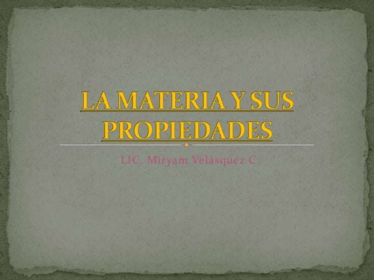 LIC. Miryam Velásquez C