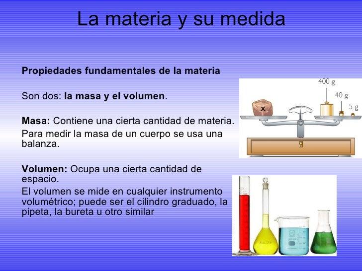 La materia y sus propiedades Alejandra Cámara  Slide 3