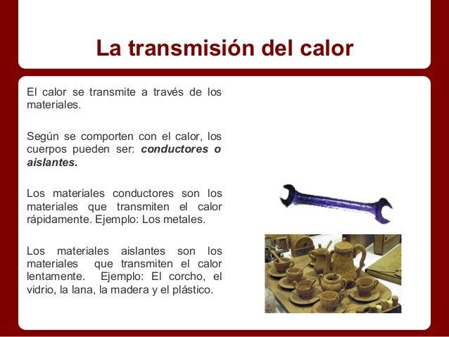 La materia y sus transformaciones - Materiales aislantes del calor ...