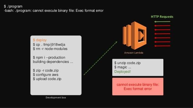 Journey to Microservice architecture via Amazon Lambda