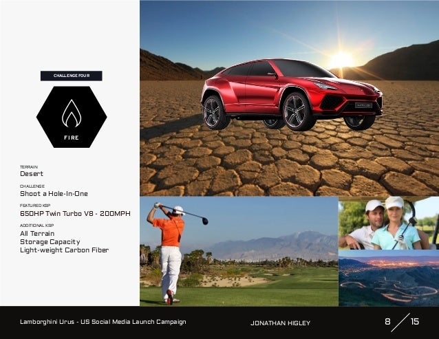 Lamborghini - Urus (US Social Media Launch Campaign Pitch by Jonathan…