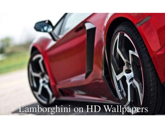 Lamborghini on HD Wallpapers