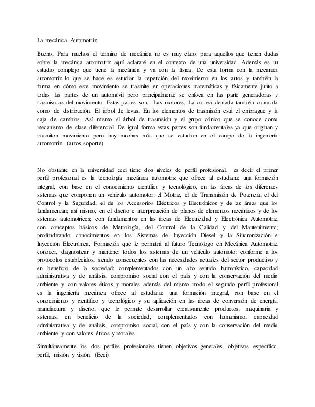 Vistoso Ejemplos Objetivos De Reanudar Del Técnico Automotriz Patrón ...