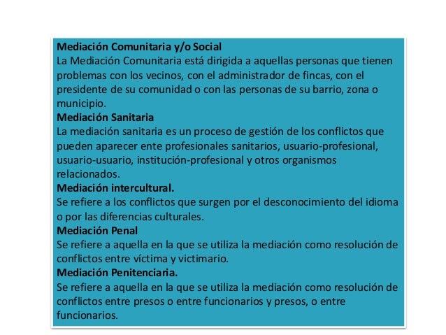 La mediaci n for Mediacion penitenciaria