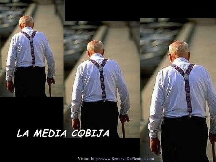 LA MEDIA COBIJA Visita:  http:// www.RenuevoDePlenitud.com