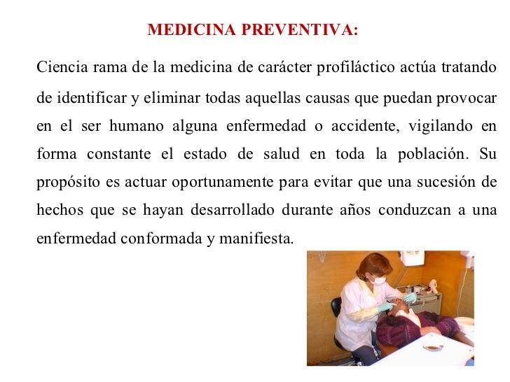 La Medicina Preventiva
