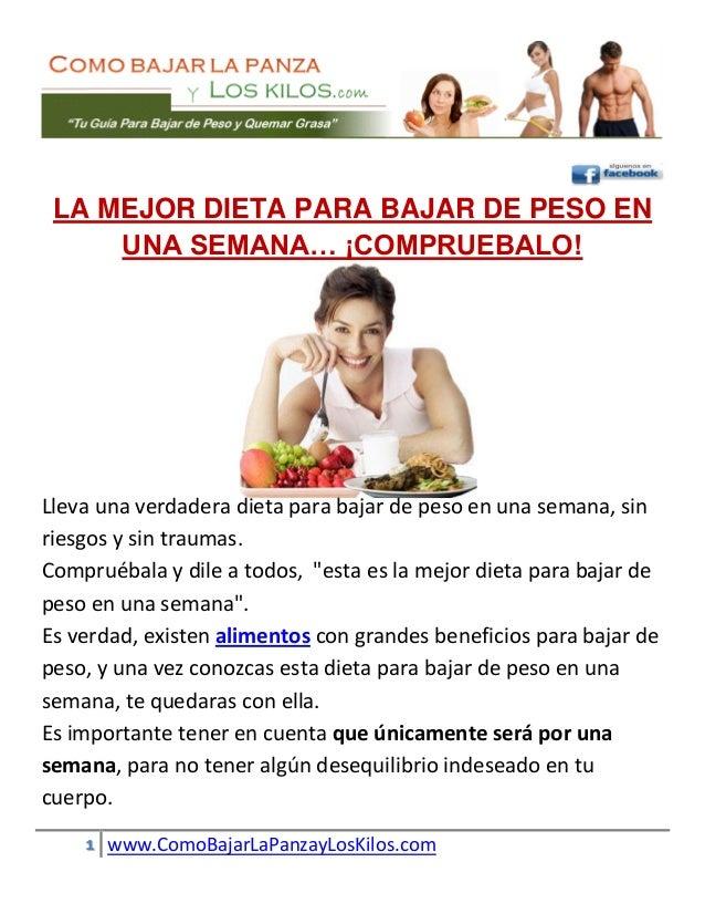 Las mejores dietas para adelgazar rapido gratis
