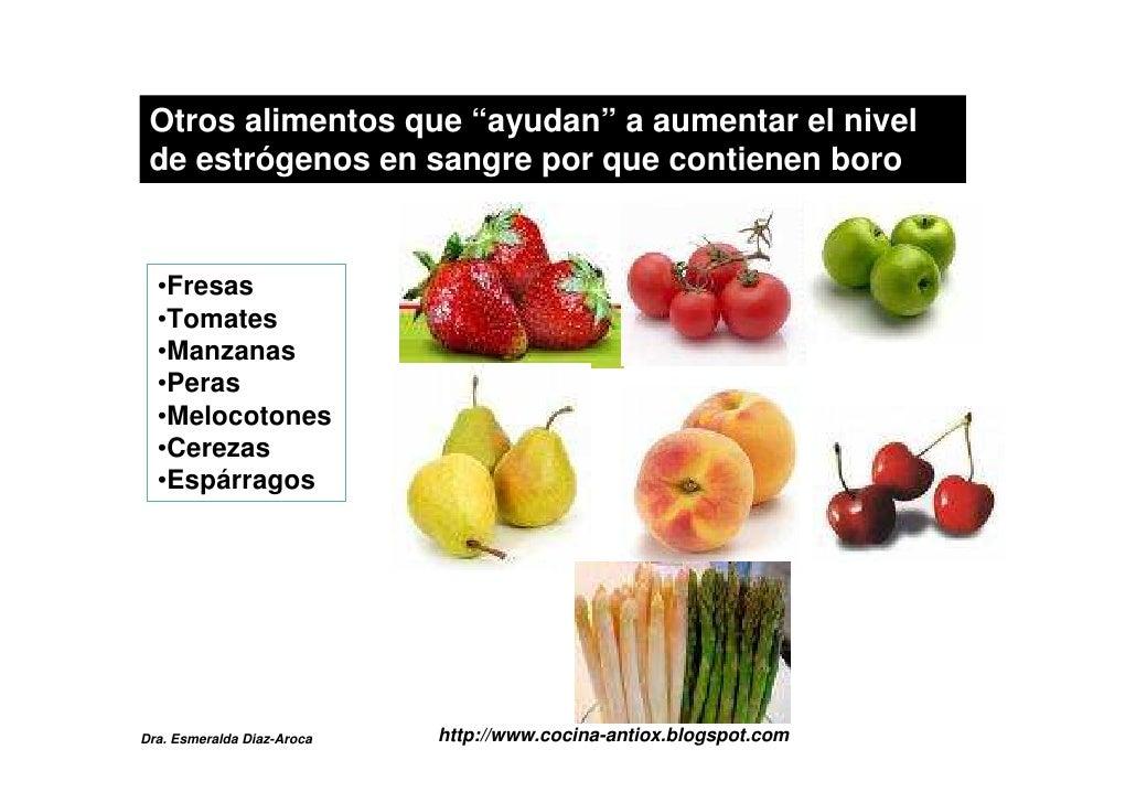 La menopausia y los alimentos - Alimentos con testosterona ...