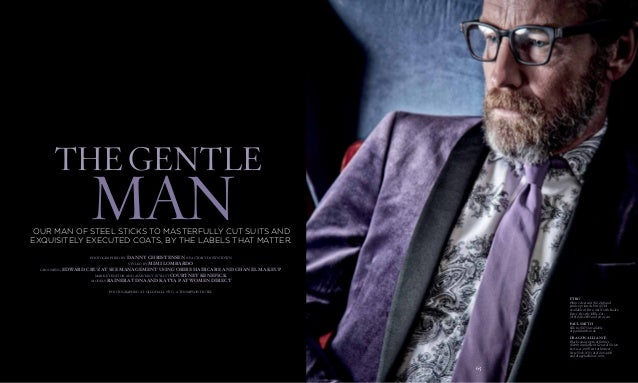 64 the gentle man 65 photographed by Danny Christensen @ Factory Downtown styled by Mimi Lombardo grooming Edward cruz at ...