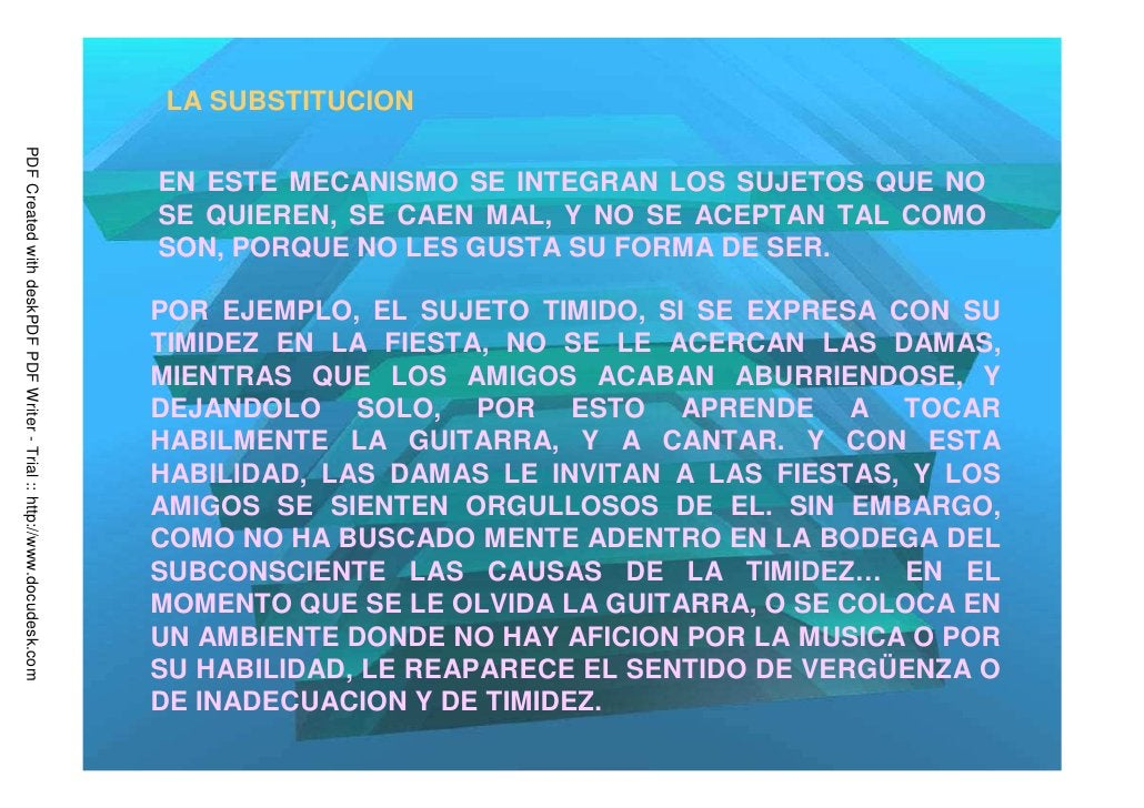 LA SUBSTITUCIONPDF Created with deskPDF PDF Writer - Trial :: http://www.docudesk.com                                     ...