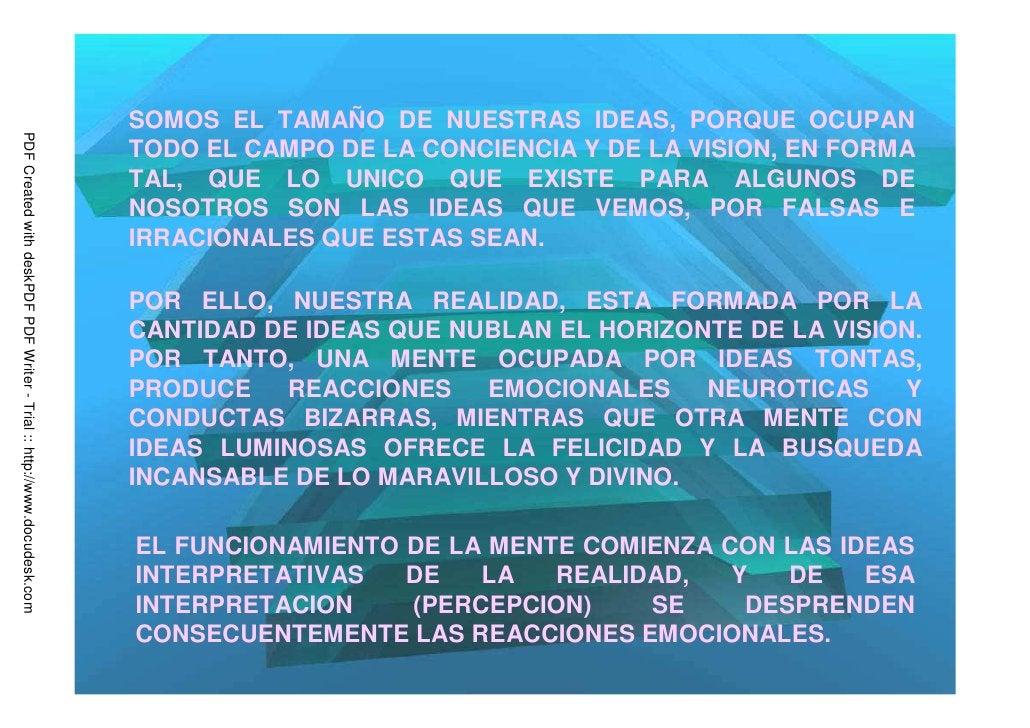 SOMOS EL TAMAÑO DE NUESTRAS IDEAS, PORQUE OCUPANPDF Created with deskPDF PDF Writer - Trial :: http://www.docudesk.com    ...