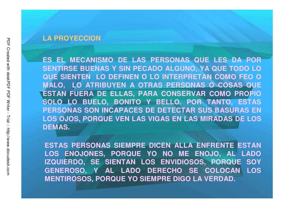 LA PROYECCIONPDF Created with deskPDF PDF Writer - Trial :: http://www.docudesk.com                                       ...