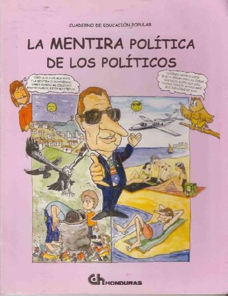 La mentira política de los políticos