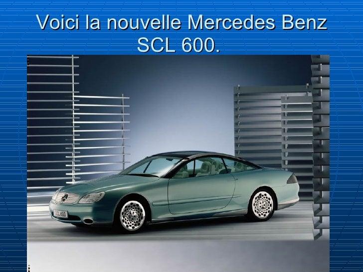 La mercedes benz scl600jk for La mercedes benz