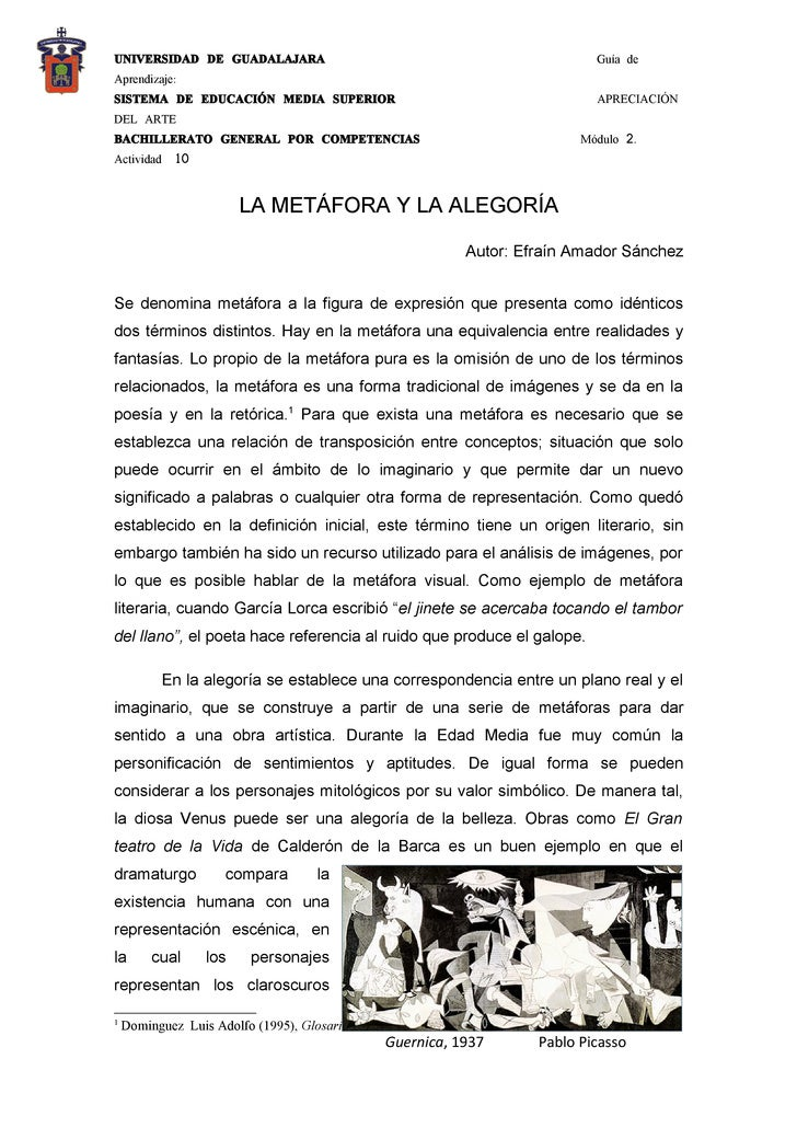 UNIVERSIDAD DE GUADALAJARA                                                               Guía de Aprendizaje: SISTEMA DE E...