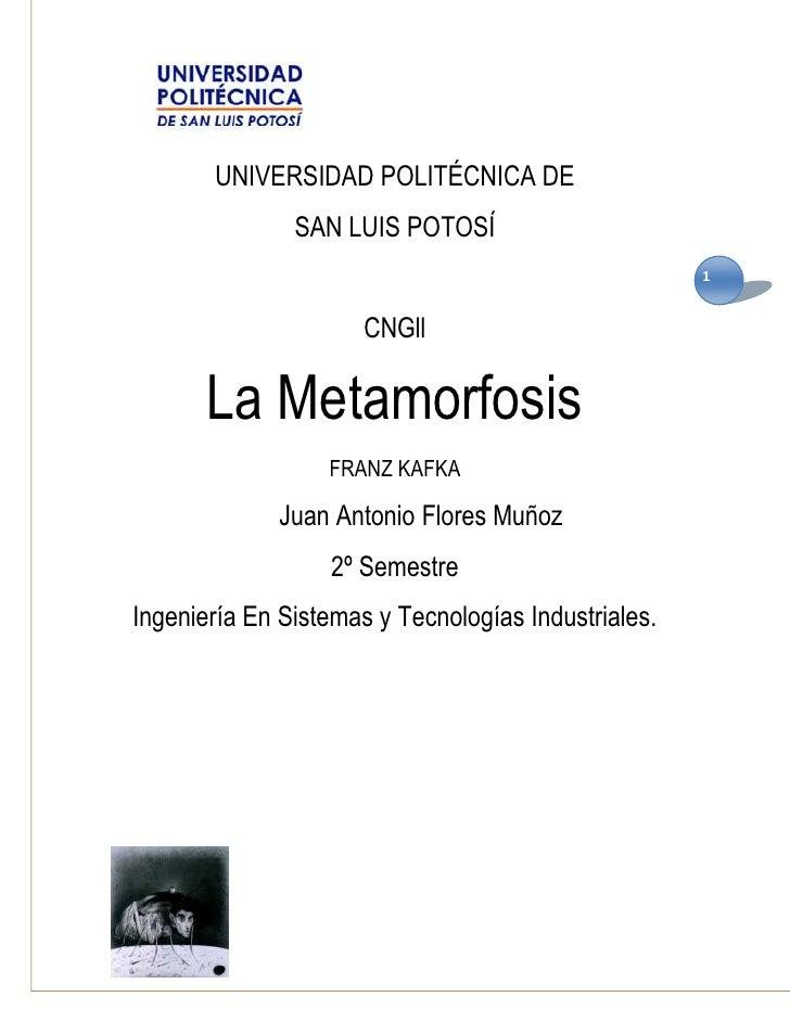 UNIVERSIDAD POLITÉCNICA DE               SAN LUIS POTOSÍ                                                     1            ...