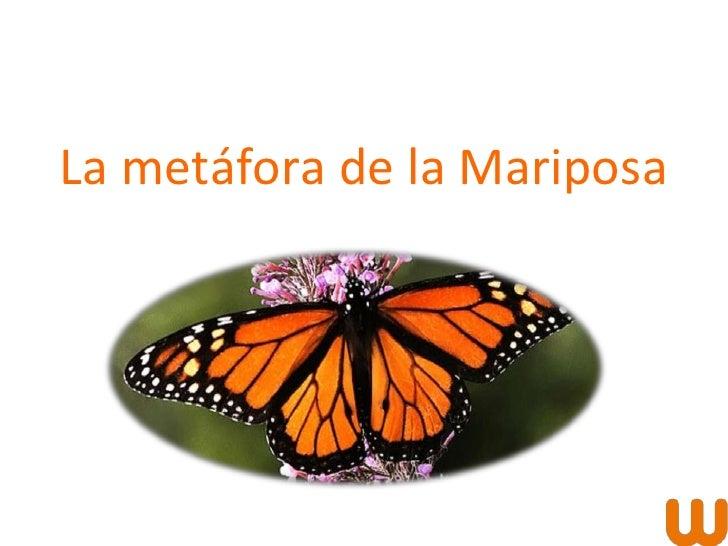 La metáfora de la Mariposa