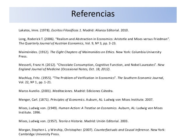 "Lakatos, Imre. (1978). Escritos Filosóficos 1. Madrid: Alianza Editorial. 2010. Long, Roderick T. (2006). ""Realism and Abs..."