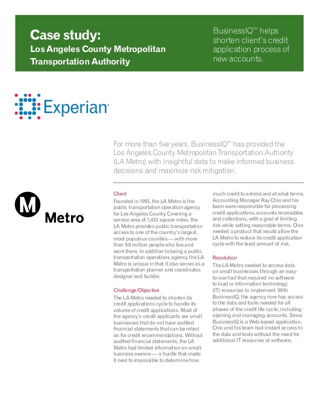 For more than five years, BusinessIQSM has provided the Los Angeles County Metropolitan Transportation Authority (LA Metro...
