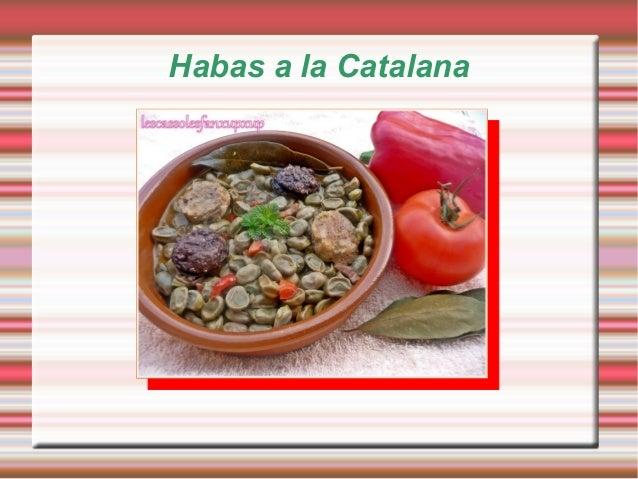 Habas a la Catalana