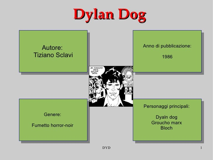 Dylan Dog Tiziano Sclavi