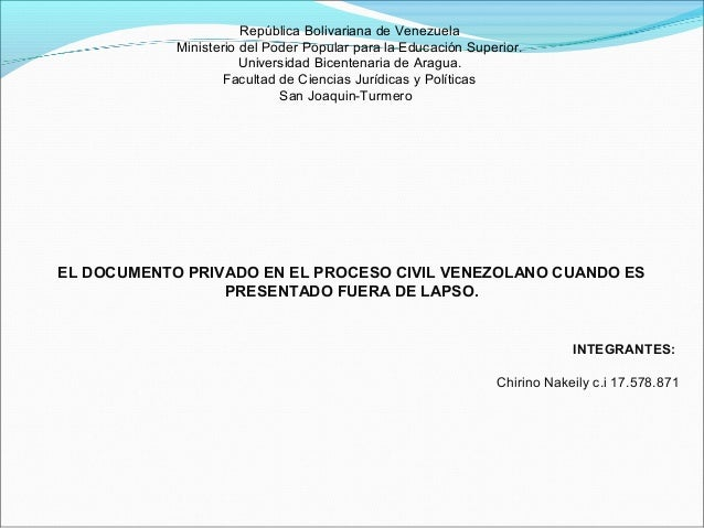 República Bolivariana de Venezuela Ministerio del Poder Popular para la Educación Superior. Universidad Bicentenaria de Ar...