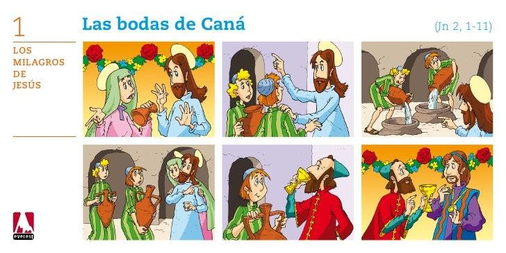 1          Las bodas de Caná   (Jn 2, 1-11)LosMilagrosdeJesús