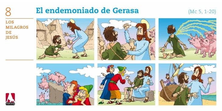 8          El endemoniado de Gerasa      (Mc 5, 1-20)LosMilagrosdeJesús