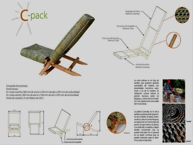Ejemplo aramdo de laminas de mobiliario for Ejemplos de muebles ergonomicos