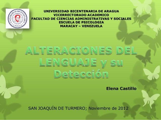 UNIVERSIDAD BICENTENARIA DE ARAGUA VICERRECTORADO ACADEMICO FACULTAD DE CIENCIAS ADMINISTRATIVAS Y SOCIALES ESCUELA DE PSI...