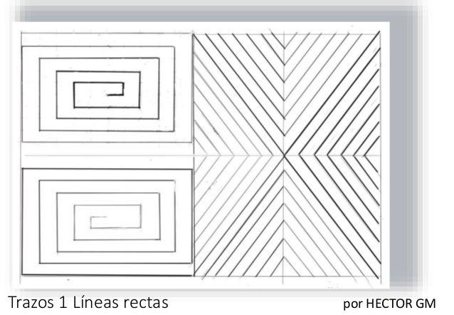 Trazos 1 Líneas rectas por HECTOR GM