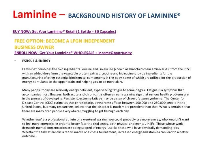 Laminine ingredients