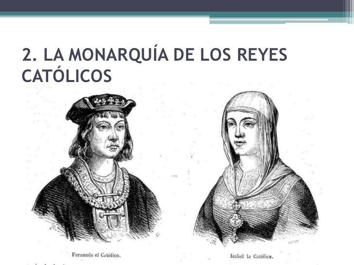 La Monarquía Autoritaria Los Reyes Católicos