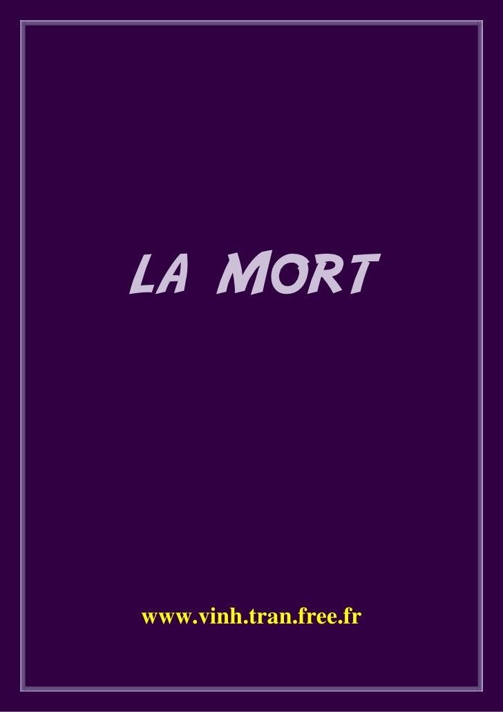 LA MORT     www.vinh.tran.free.fr