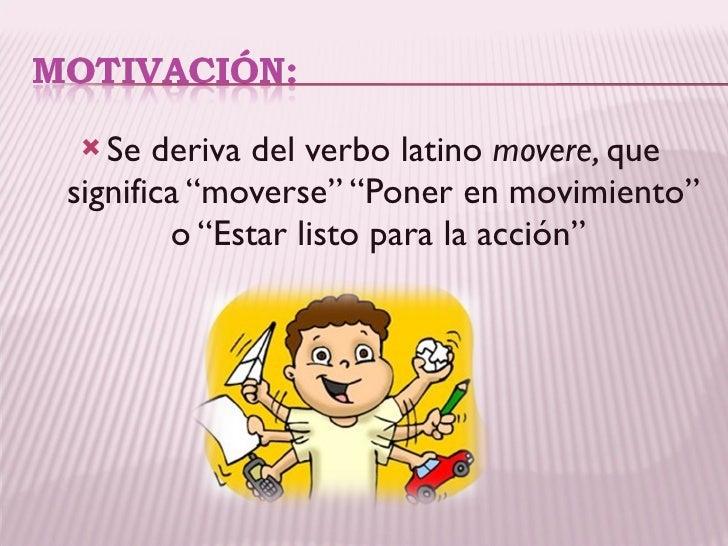 La motivación escolar y sus efectos en el aprendizaje  Slide 2
